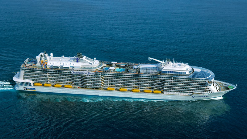 OVATION OF THE SEAS İLE ALASKA