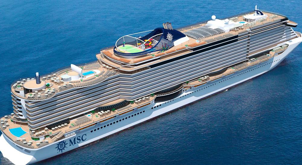 5 * MSC Seaview ile Akdeniz